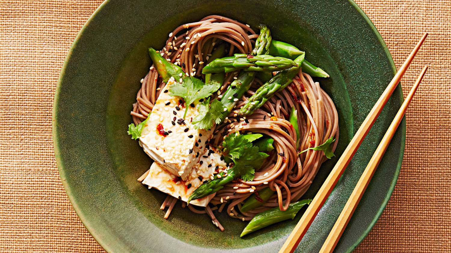 Soba Noodle Bowl With Tofu