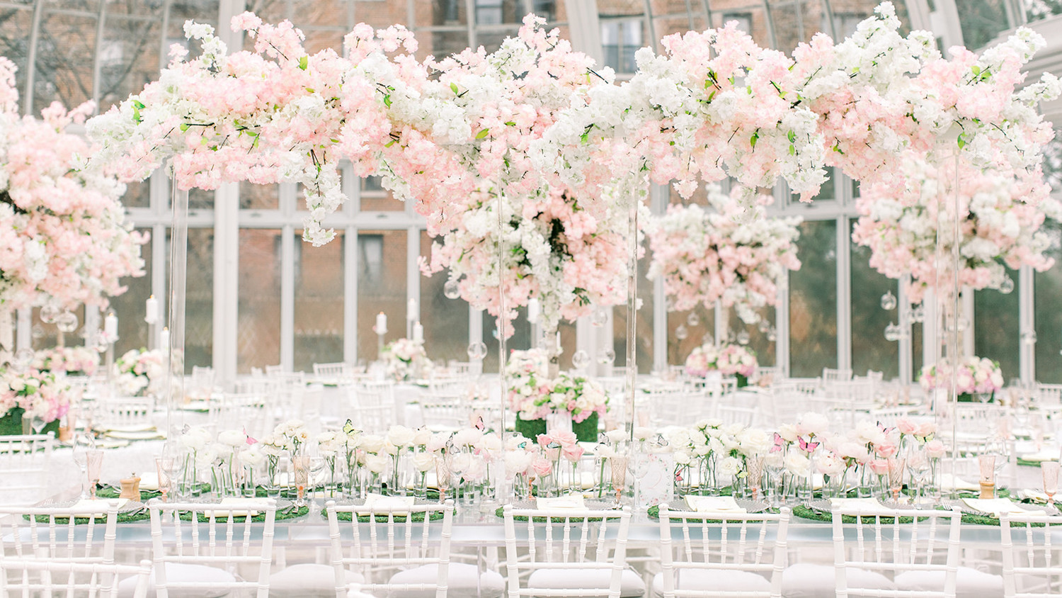 A Charitable Cherry Blossom Baby Shower at the Brooklyn Botanic ...