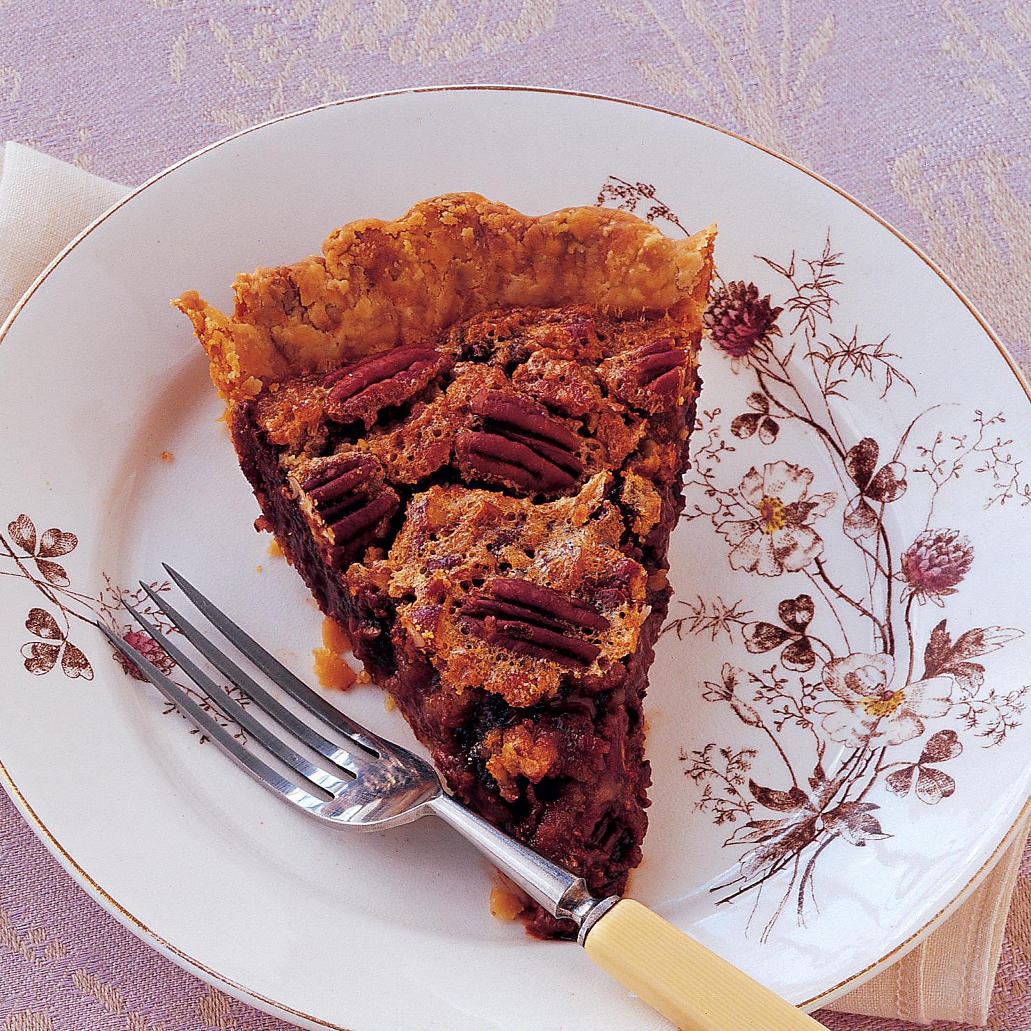 Chocolate-Bourbon-Pecan Pie