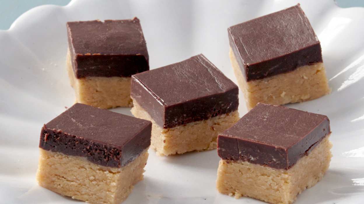 Quick Chocolate Peanut Butter Fudge