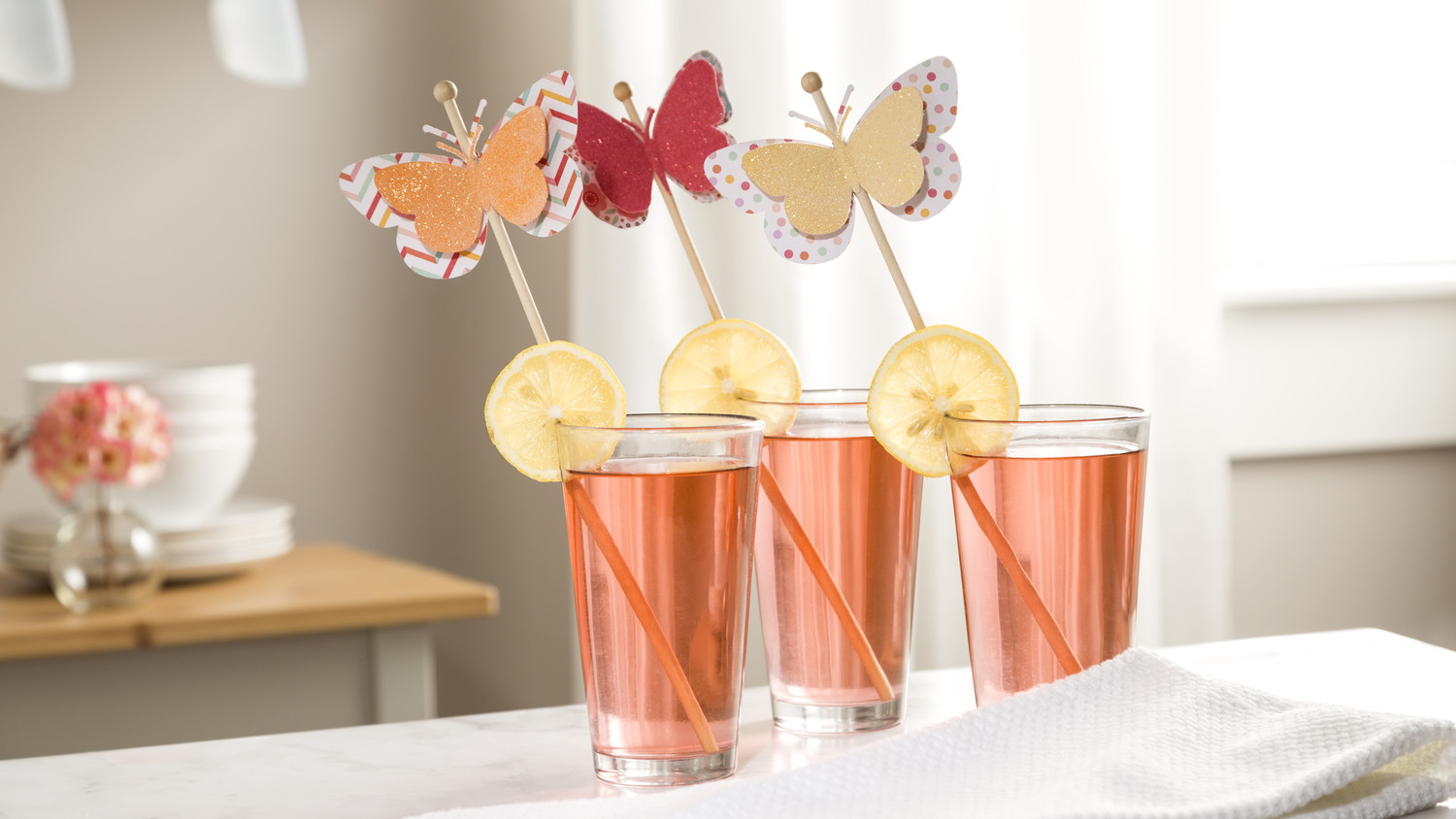 Martha Stewart Cricut® Butterfly Drink Stirrers