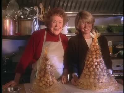 Video: Julia Child and Martha make Croquembouche   Martha