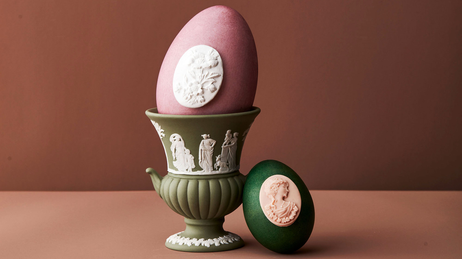 Five Decorated Easter Eggs Inspired by Fine China