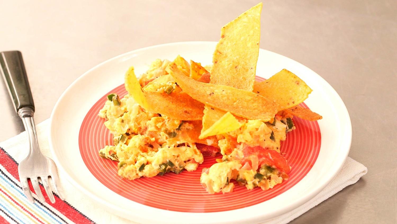 Corn-Tortilla And Egg Scramble Recipes — Dishmaps