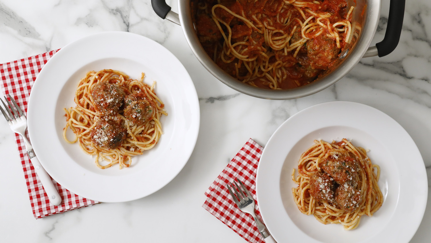 Easy Spaghetti and Meatballs Video