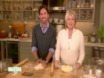 Video Apple Crostata With Henrik Lundqvist Part 1 Martha Stewart