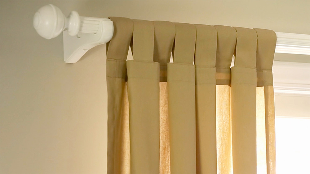 how to make curtains martha stewart