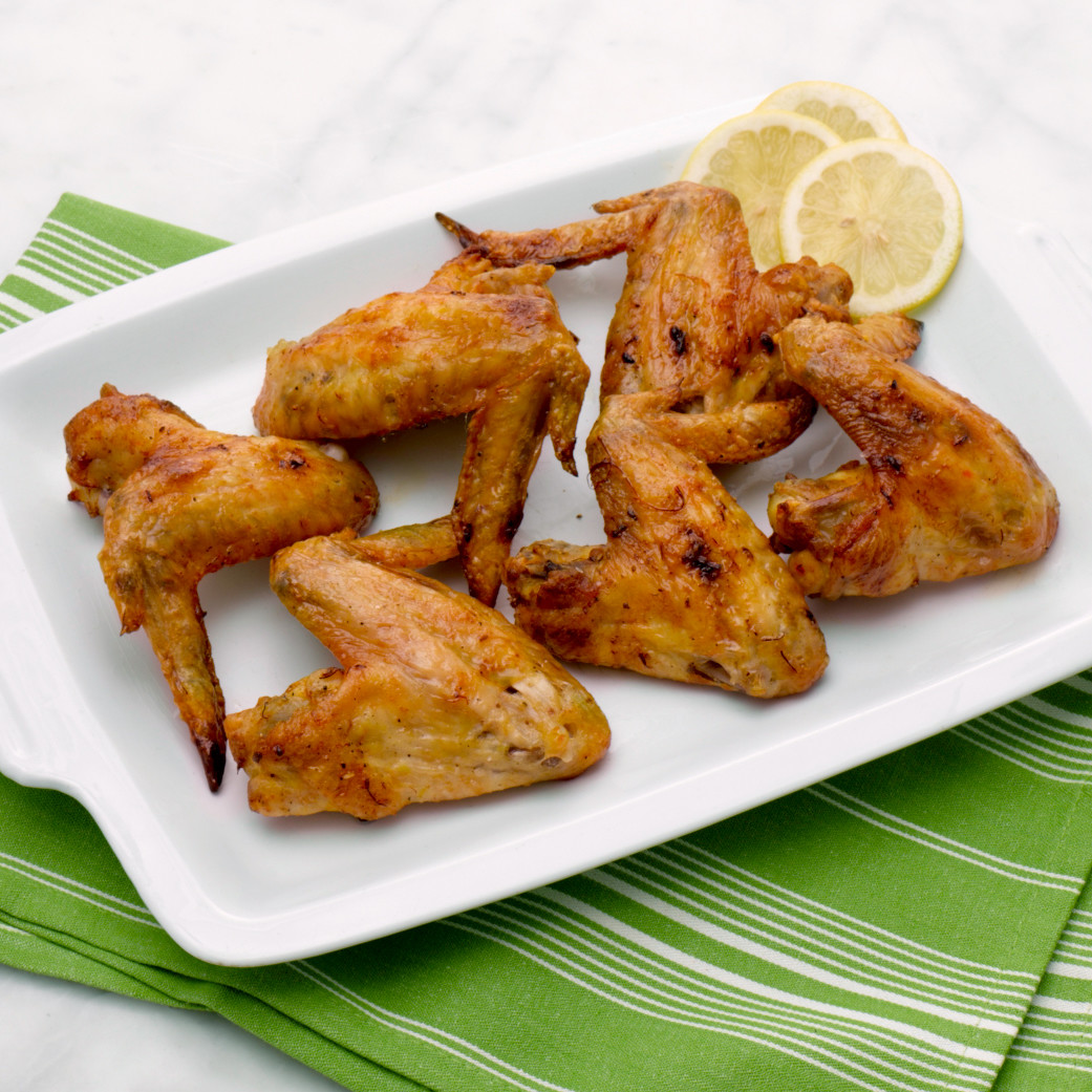 Saffron-Roasted Chicken Wings Recipe & Video