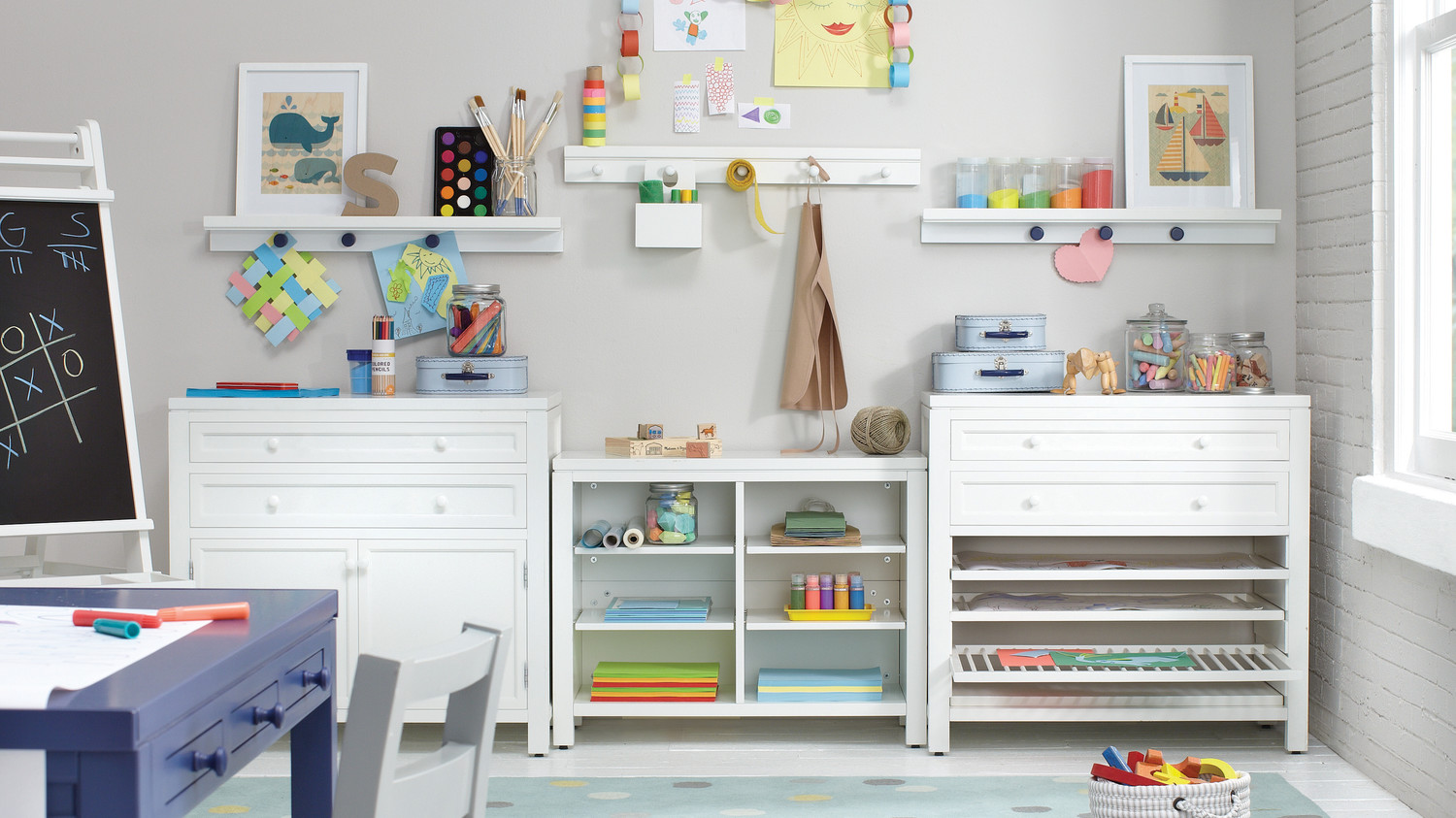 everything you need for a kids craft room martha stewart rh marthastewart com kids craft room reindeer hat kids craft room reindeer