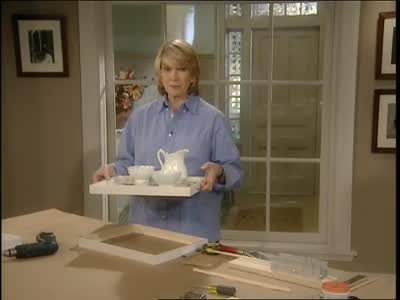 Video: How to Craft a Serving Tray from a Picture Frame | Martha Stewart