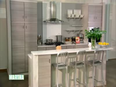 Video: Martha Stewart Kitchen Designs at Home Depot ...