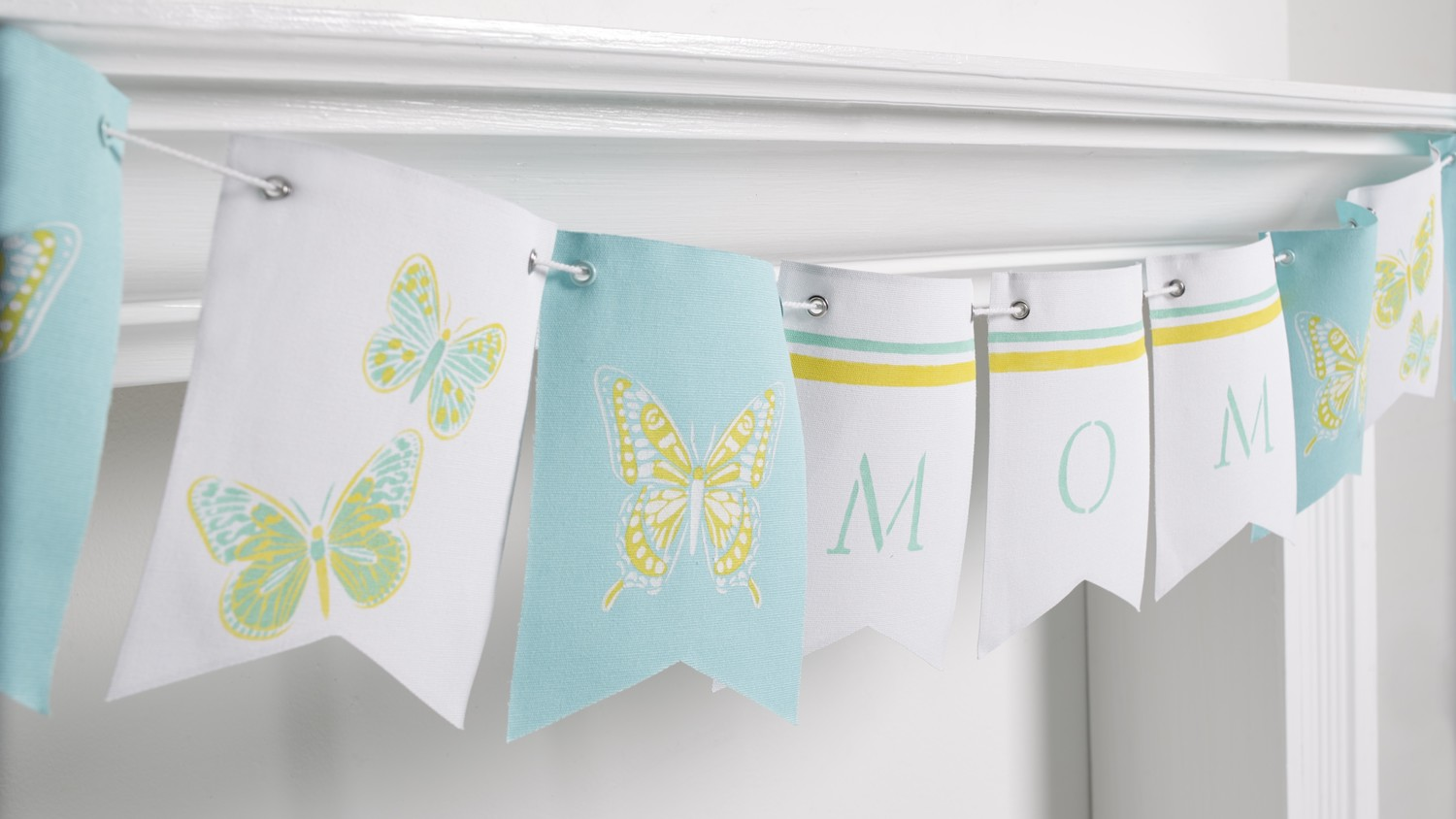 Martha Stewart's Stenciled Mother's Day Banner