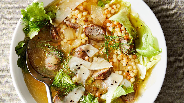Shortcut Italian Wedding Soup