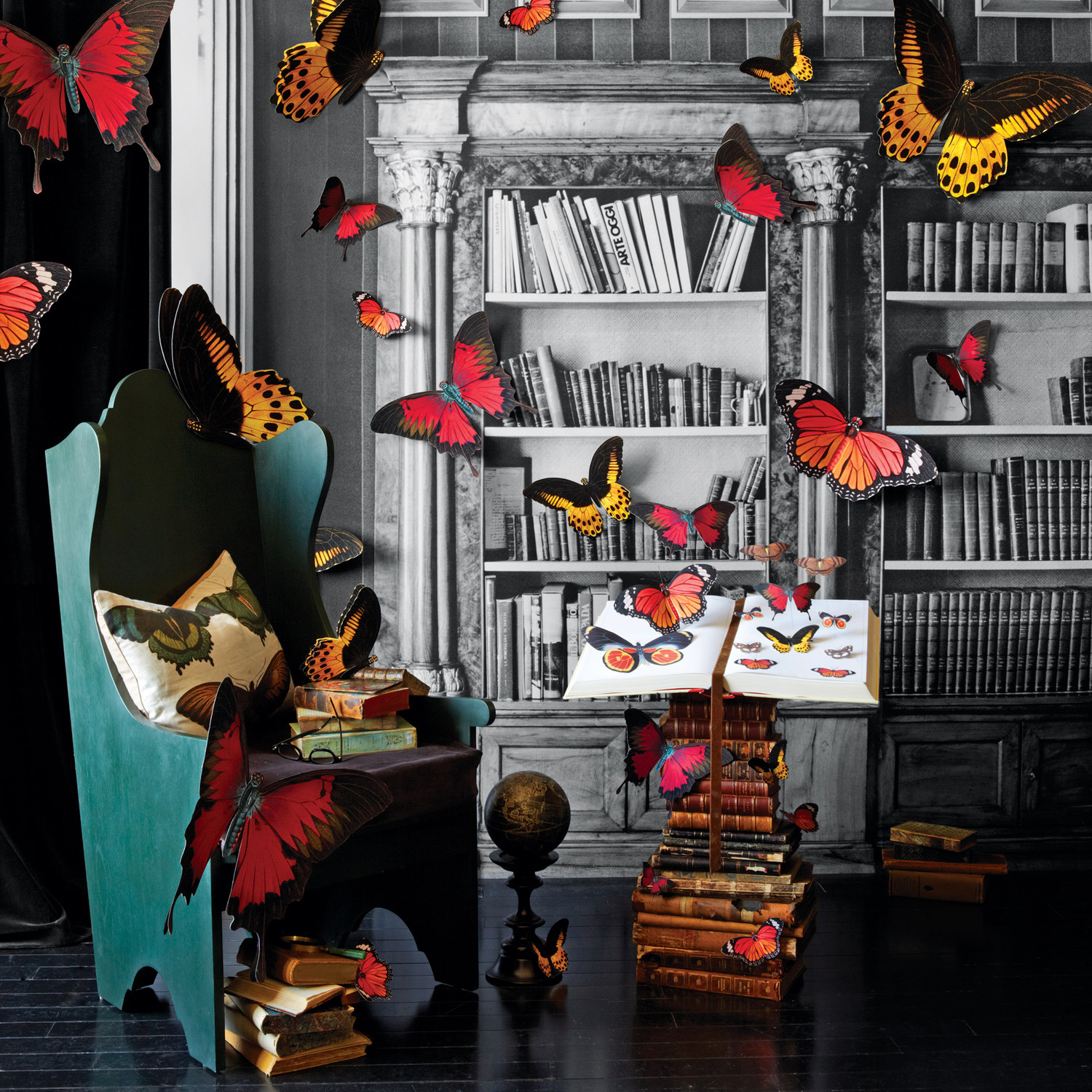 Clip-Art Butterfly Specimens | Martha Stewart