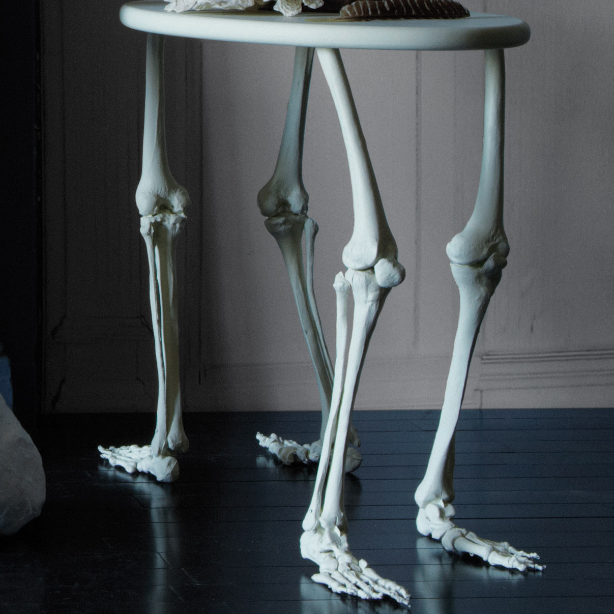 Decorative Skeleton Bone Table Martha Stewart
