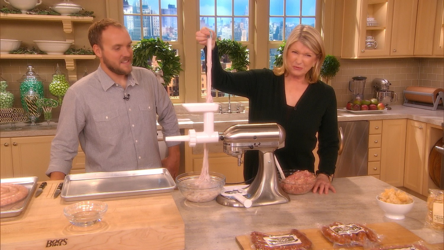 Sausage Casings as Explained by Martha Stewart