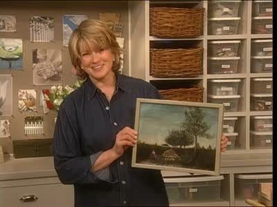 Video Using Molding To Create A Simple Picture Frame Martha Stewart