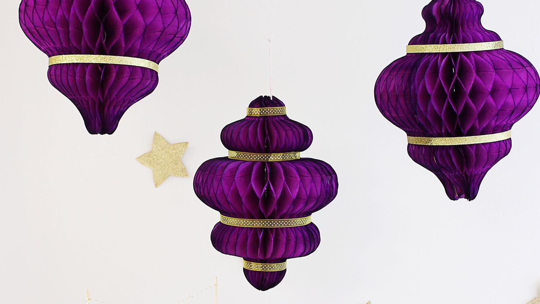 Eid al-Fitr Hanging Paper Lanterns