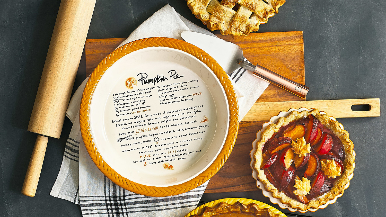 martha holiday countdown 2017 pie plate