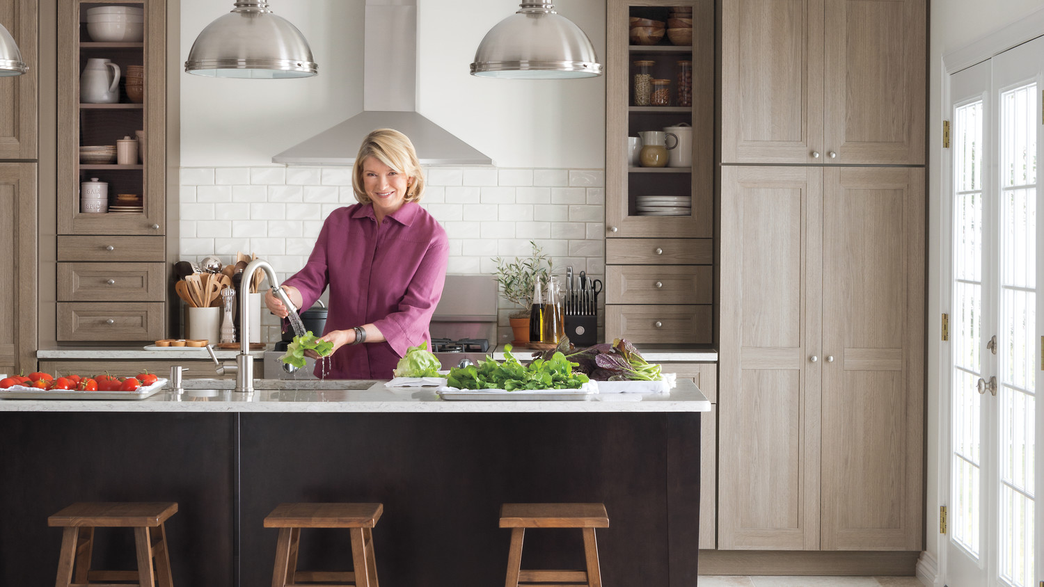 Video Martha Stewart Talks Purestyle Kitchen Cabinets Martha