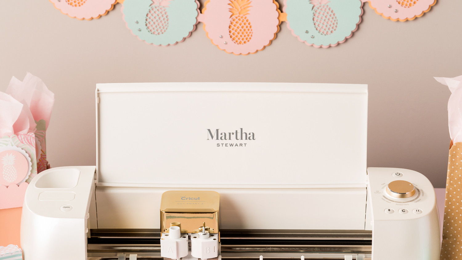Why Martha's Special Edition Cricut® Will be Your New Go-To