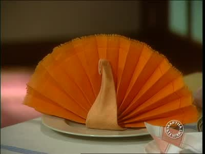 Video Ideas For Folding Napkins For Thanksgiving Tables
