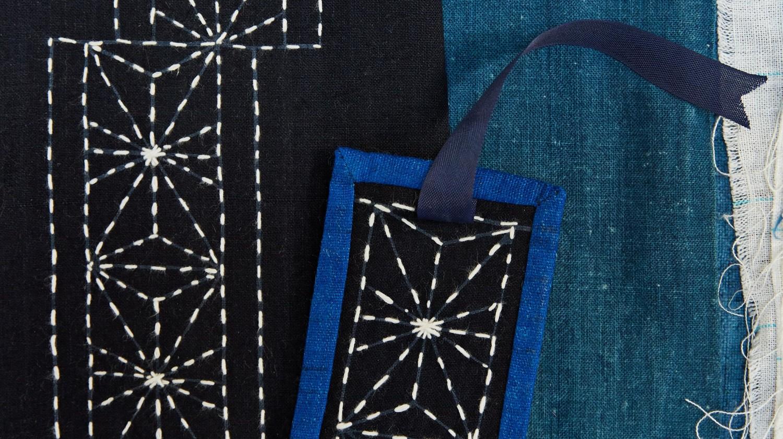 Sashiko: The Japanese Art of Mending Fabric with Beautiful ...