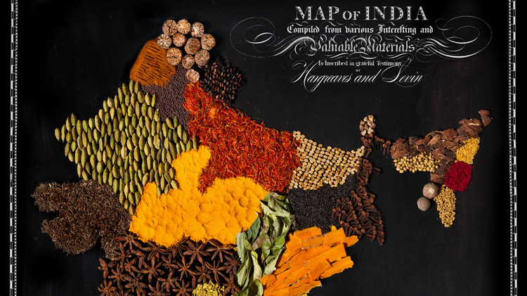 These Stunning Maps Are Made Entirely Out Of Food Martha Stewart