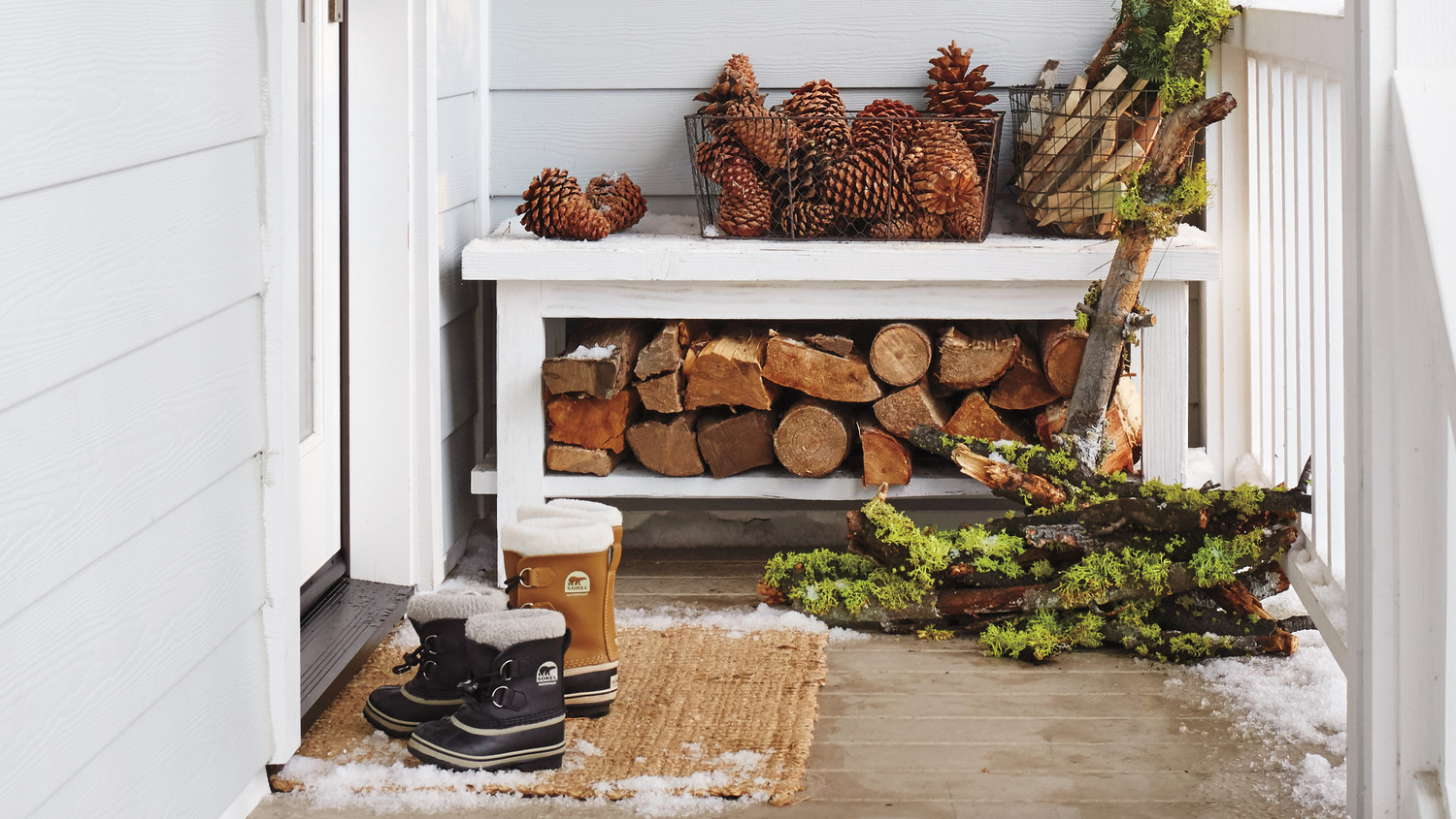 Set Up a Cozy Winter Porch with These Simple Decorating Tips