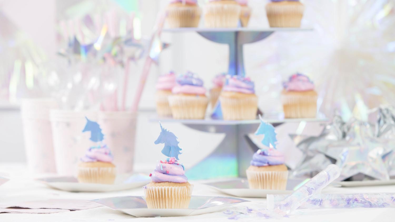 michaels celebrations merch decor cupcakes unicorns