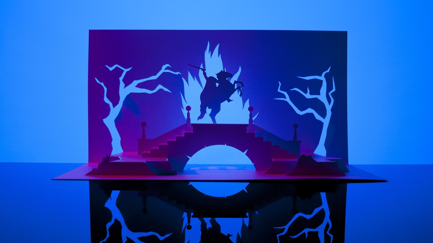Horrorgami Paper Headless Horseman Bridge
