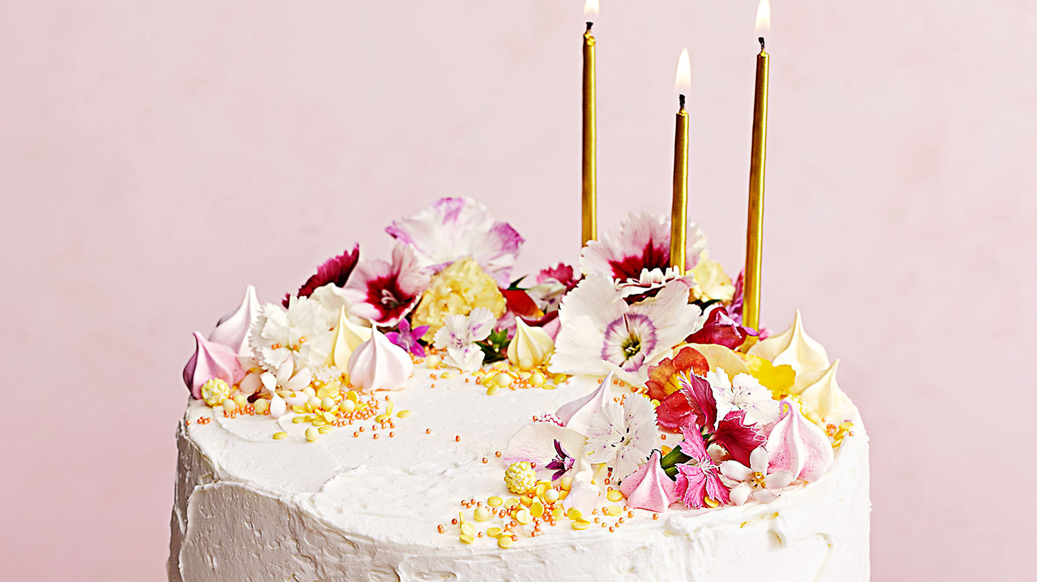 Citrus Mousse Cake With Buttercream Frosting Recipe