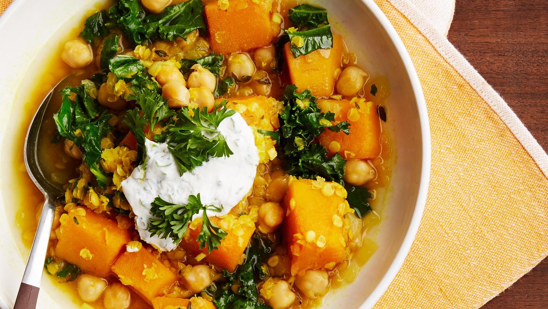 Red Lentil Vegetable Stew