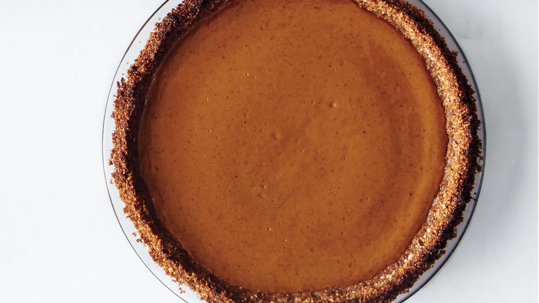 Gluten-Free Spiced Pumpkin Pie