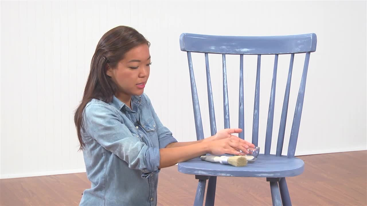 Video: Give Furniture a Distressed Look with Vintage Dcor Paint | Martha  Stewart