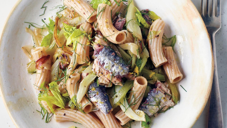 Caramelized Fennel Celery And Sardine Pasta
