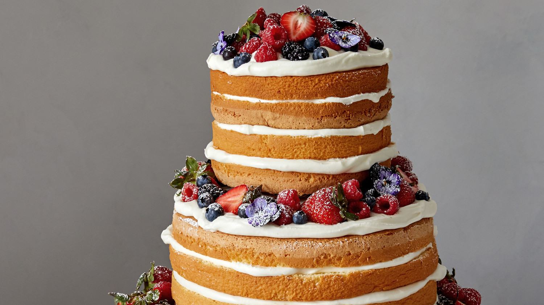 Naked Berry Chiffon Cake-5599