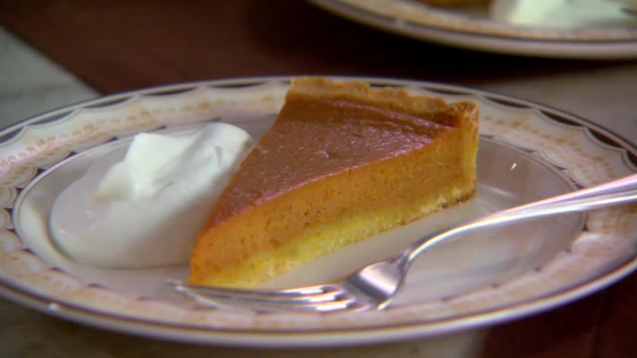 Baking Bonus: Pumpkin Tart with Press-in Shortbread Tart ...