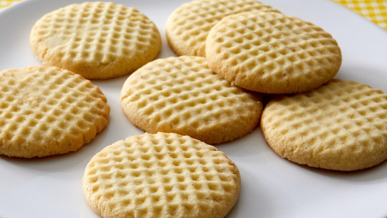 Iranian Rice Cookies Nan E Berenji
