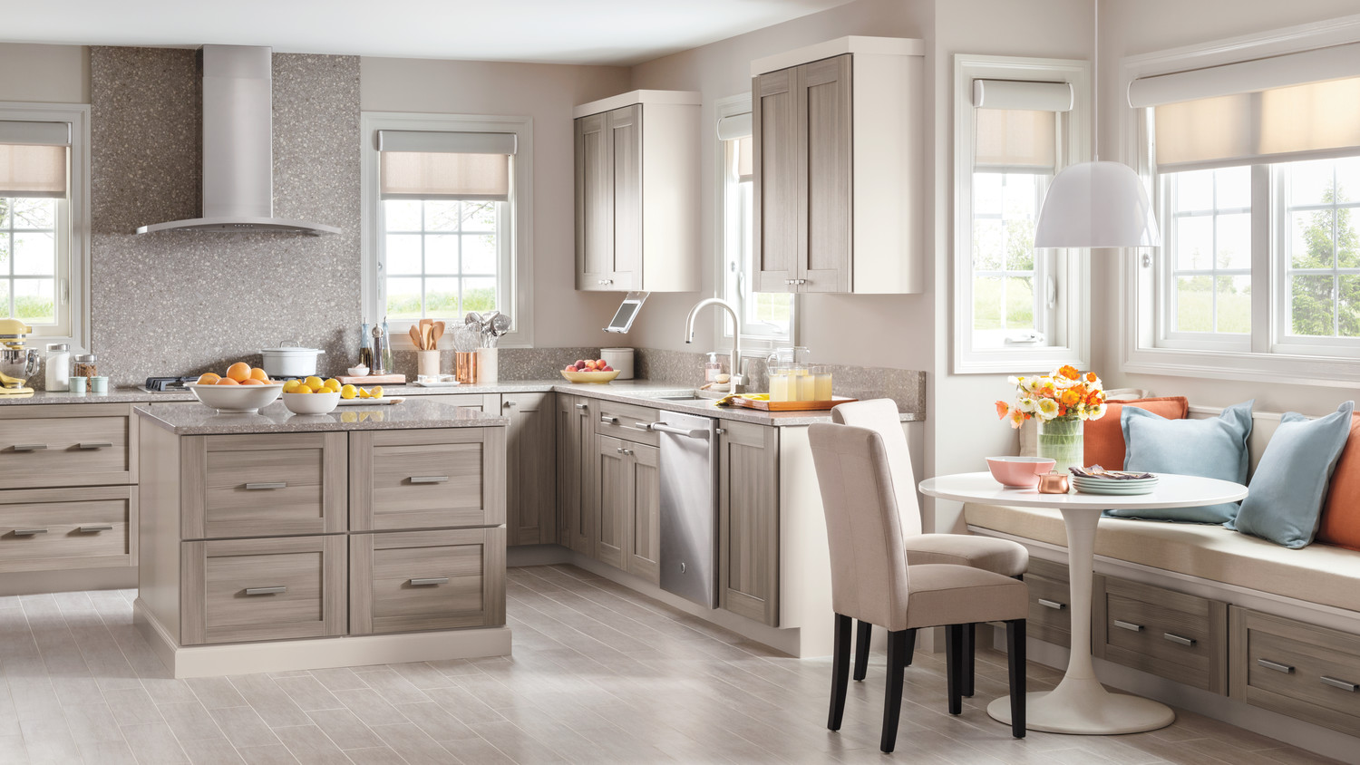 Video: Martha Stewart Introduces Textured PureStyle Kitchen Cabinets ...