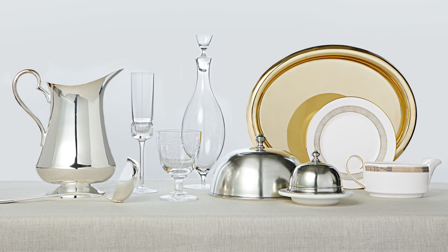 How To Clean Your Plates, Silver, Glasses, And More