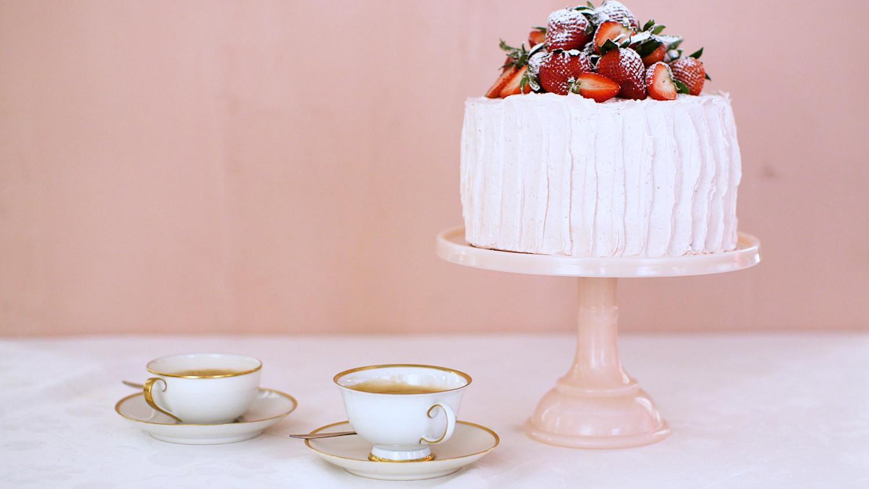 Strawberry Sponge Cake Martha Stewart