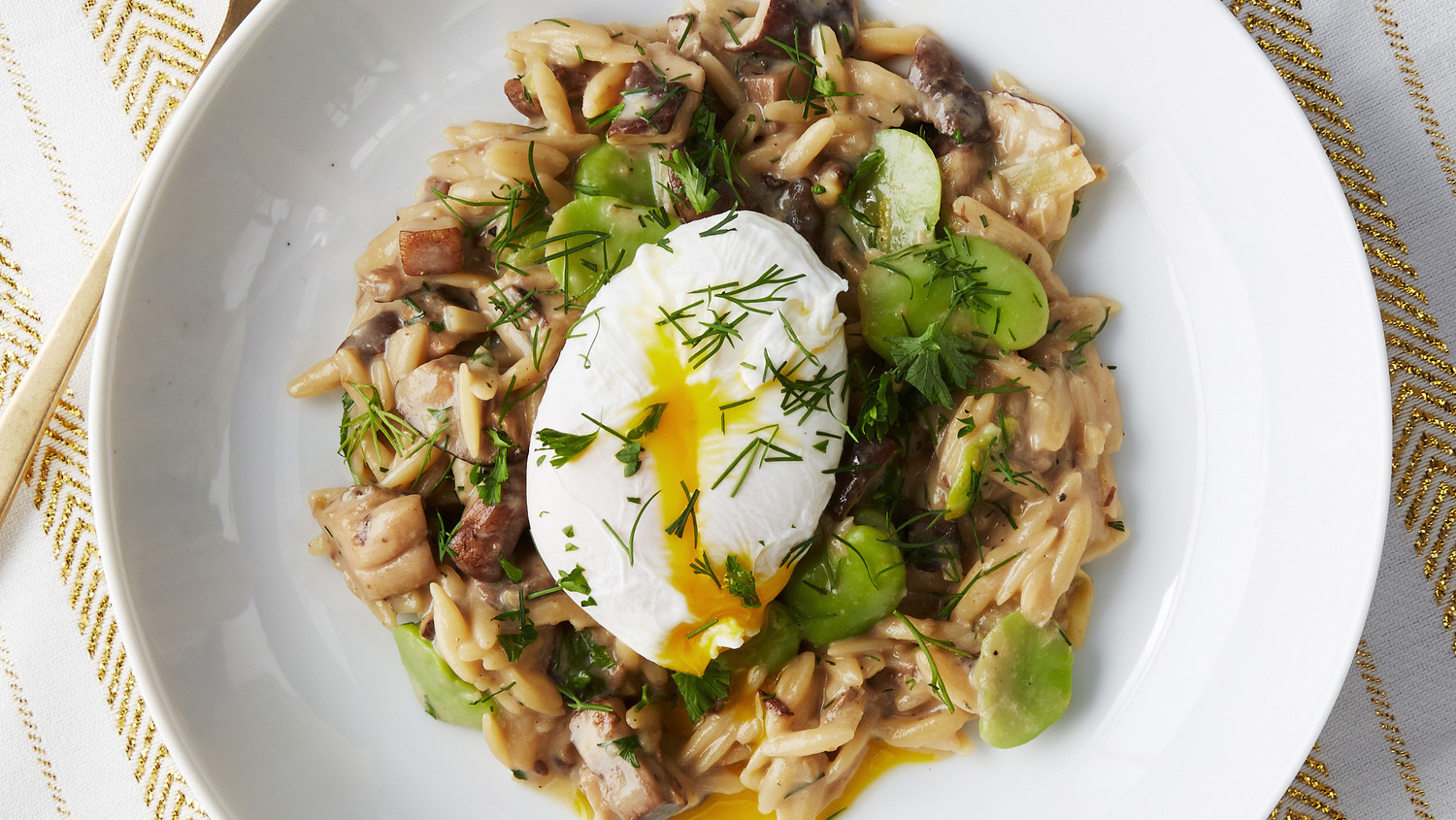 Orzo Risotto with Wild Mushrooms