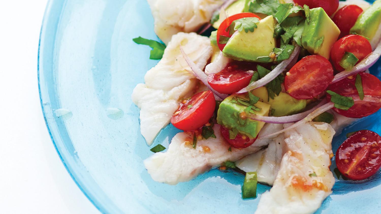 Ceviche with Avocado, Tomato, and Cilantro Recipe | Martha ...