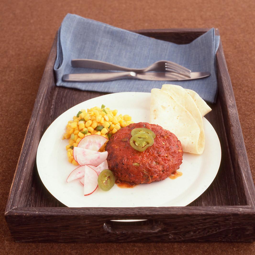 Southwestern Meatloaf Burgers