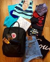 Gym Bag Packing