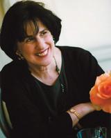 paula wolfert portrait with flower