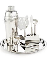 macys barware stainless steel