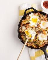 fried rice eggs