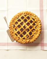 pear cranberry pie